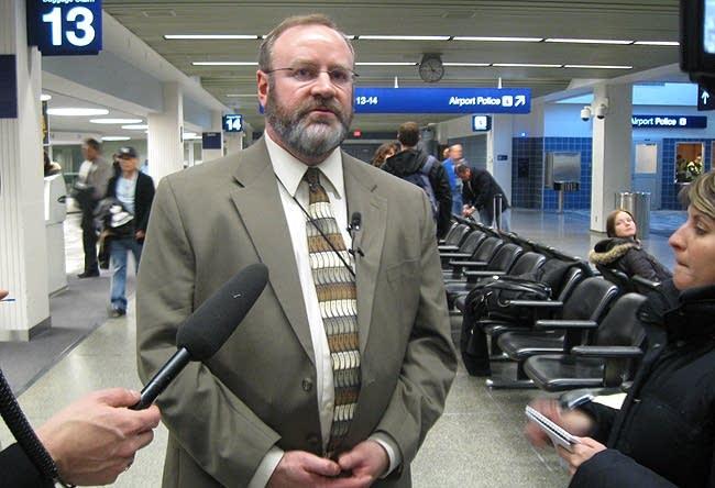 Airport spokesman Patrick Hogan