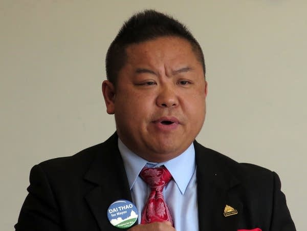 St. Paul city council member Dai Thao.