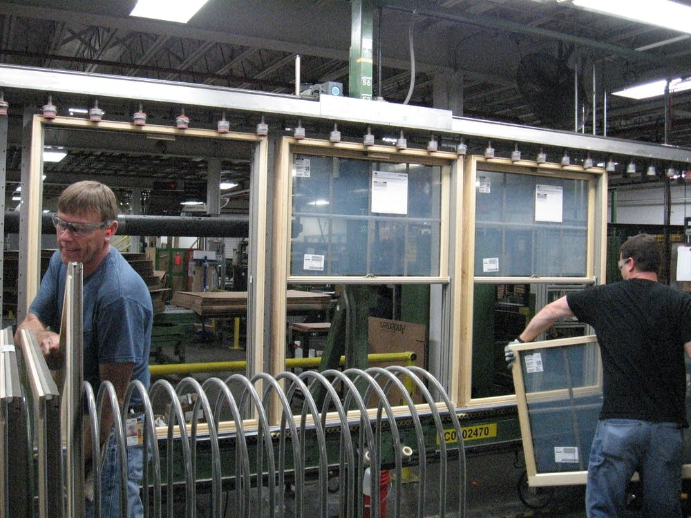 Workers at Andersen Windows