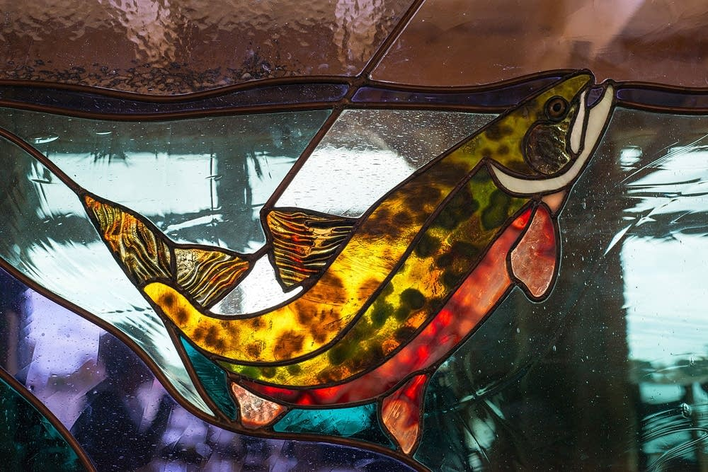 Angry Trout window