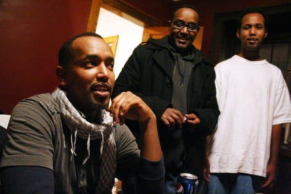 Mustafa Said, left,  manager Cultural Homes, Inc.
