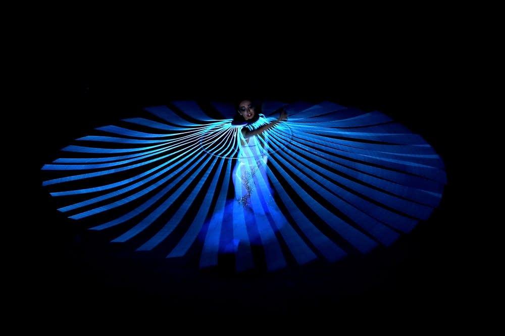 Diana Vishneva performs