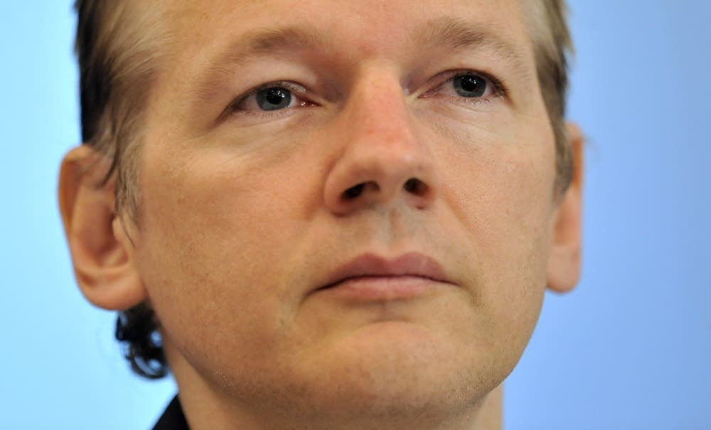 Julian Assange of WikiLeaks