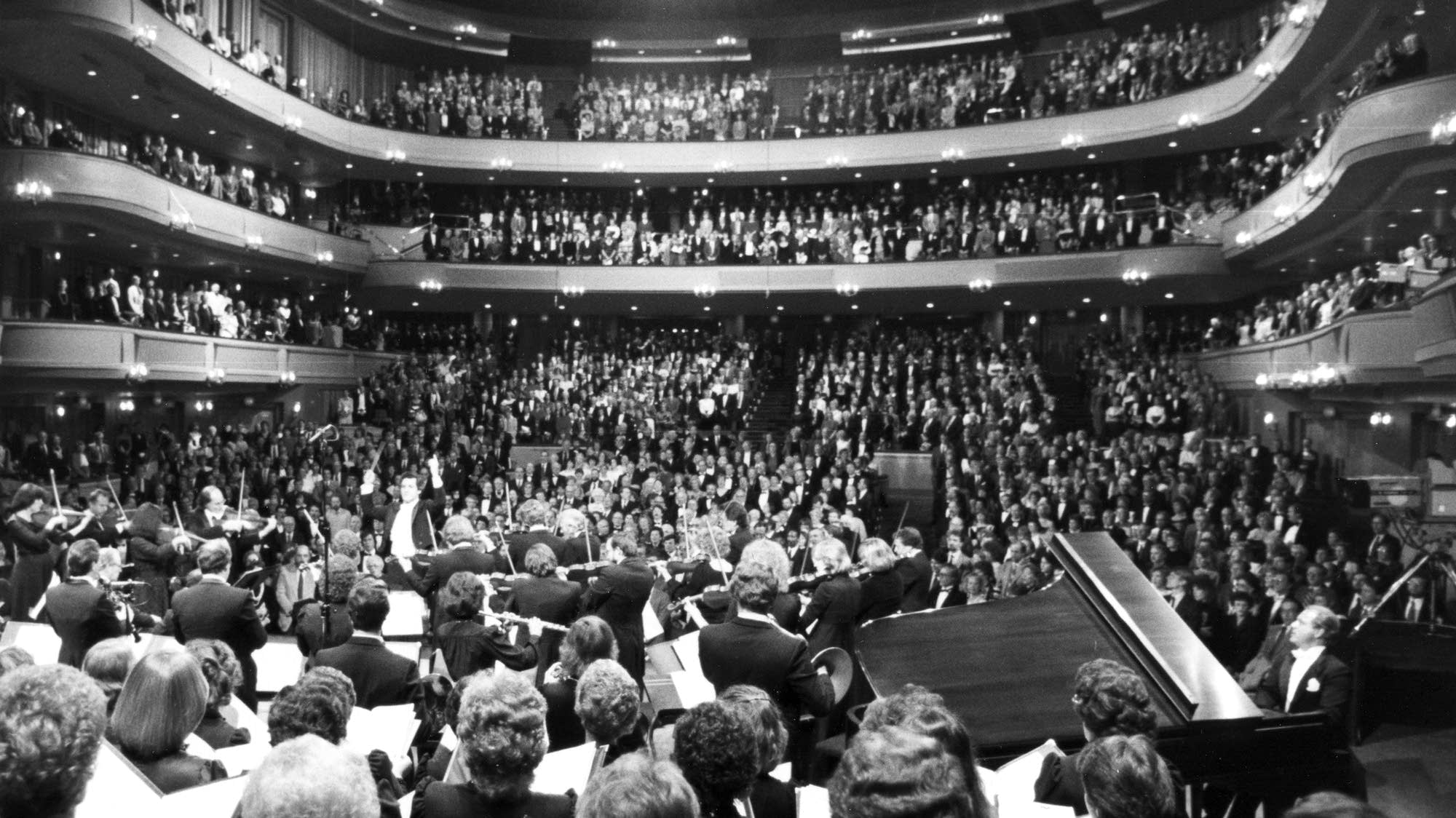 Ordway Music Theatre opening concert, 1985