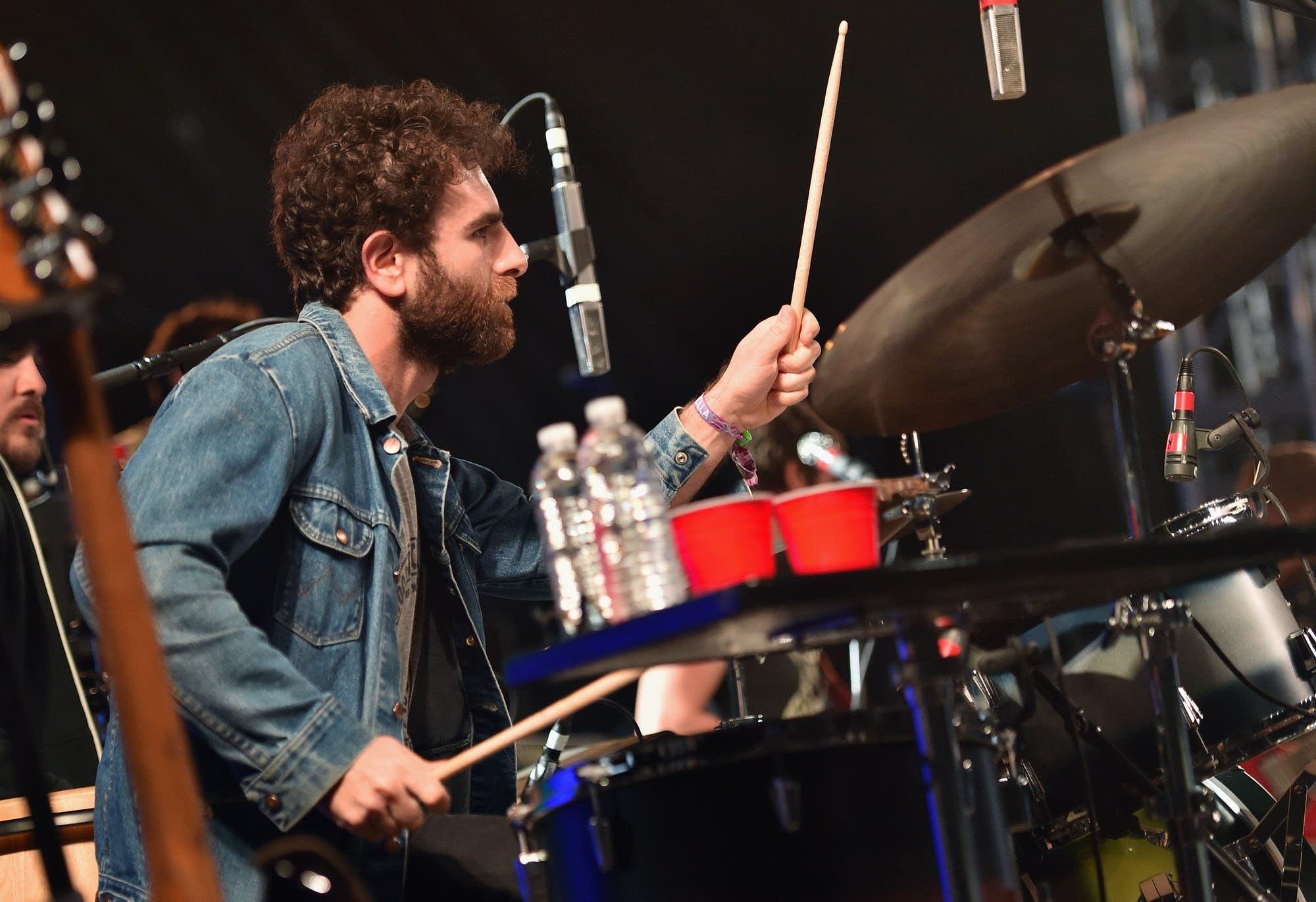 Drummer Homer Steinweiss