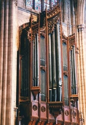 1992 Mander organ at Princeton University Chapel, Princeton, NJ