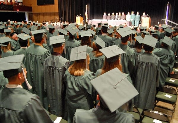 Mounds View commencement