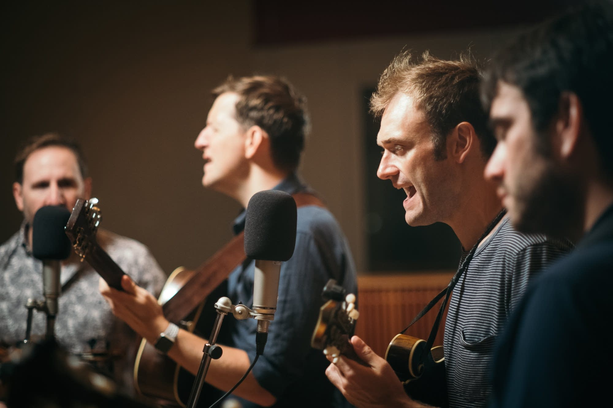 Punch Brothers perform in The Current studio