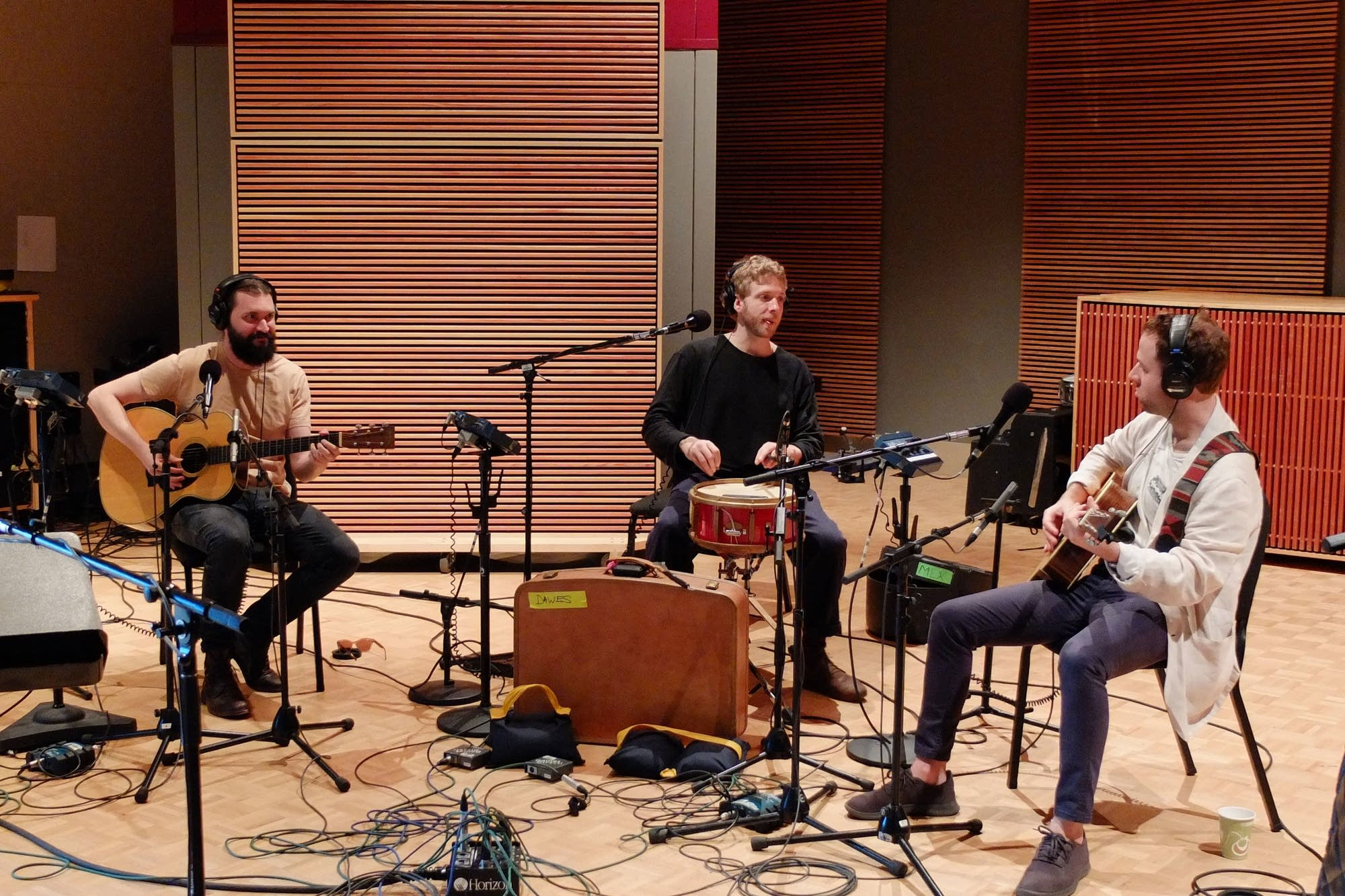 Dawes perform an acoustic set at The Current
