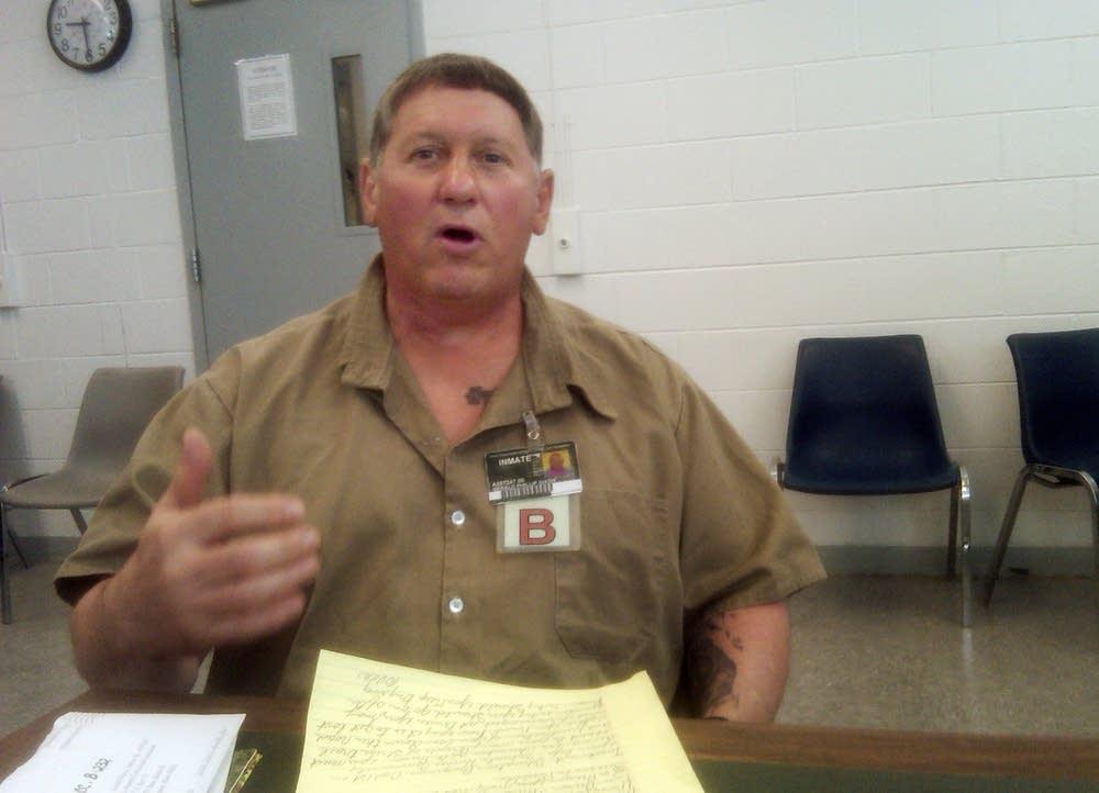 Gerald DIxon in prison