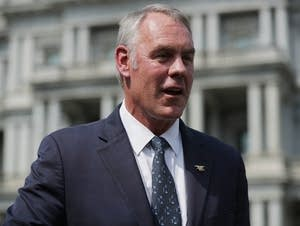 Interior Secretary Ryan Zinke Discusses Wildfires In The West