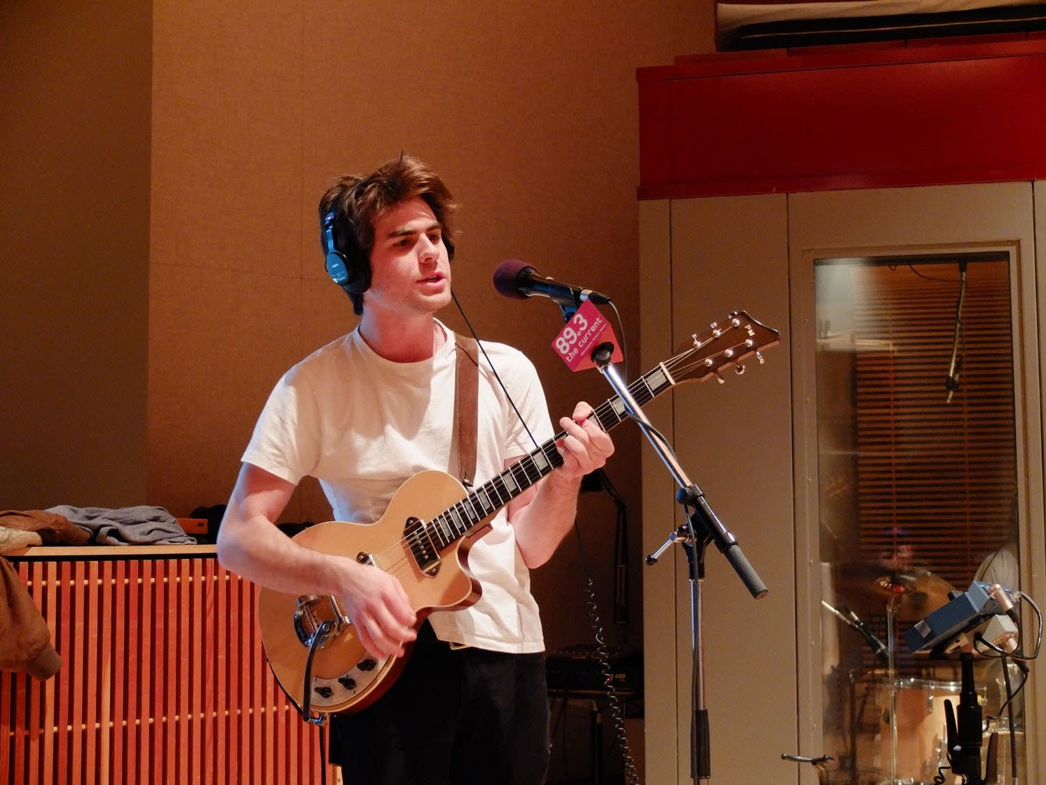 Matt O'Keefe of The Orwells performs in The Current studio