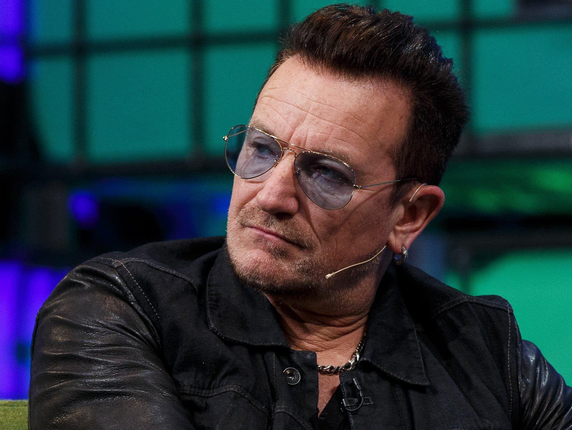 Bono at the 2014 Web Summit in Dublin.