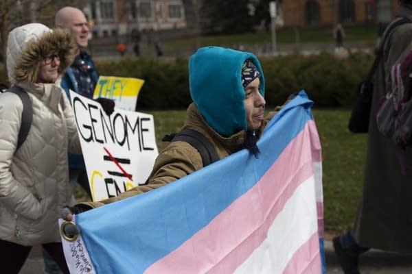 Daniel Pulaski, a transgender man from St. Paul