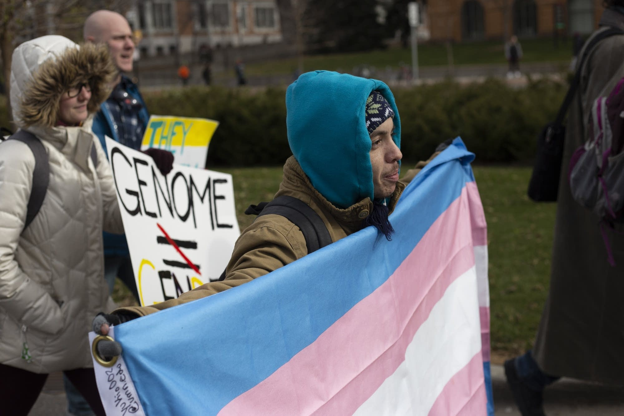 Daniel Pulaski, a transgender man from St. Paul