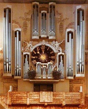 1969 Klais organ at Saint Kilian's Cathedral, Würzburg, Germany