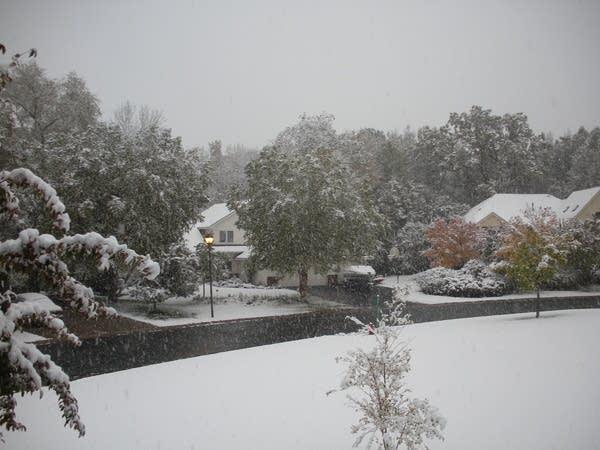 October snowfall