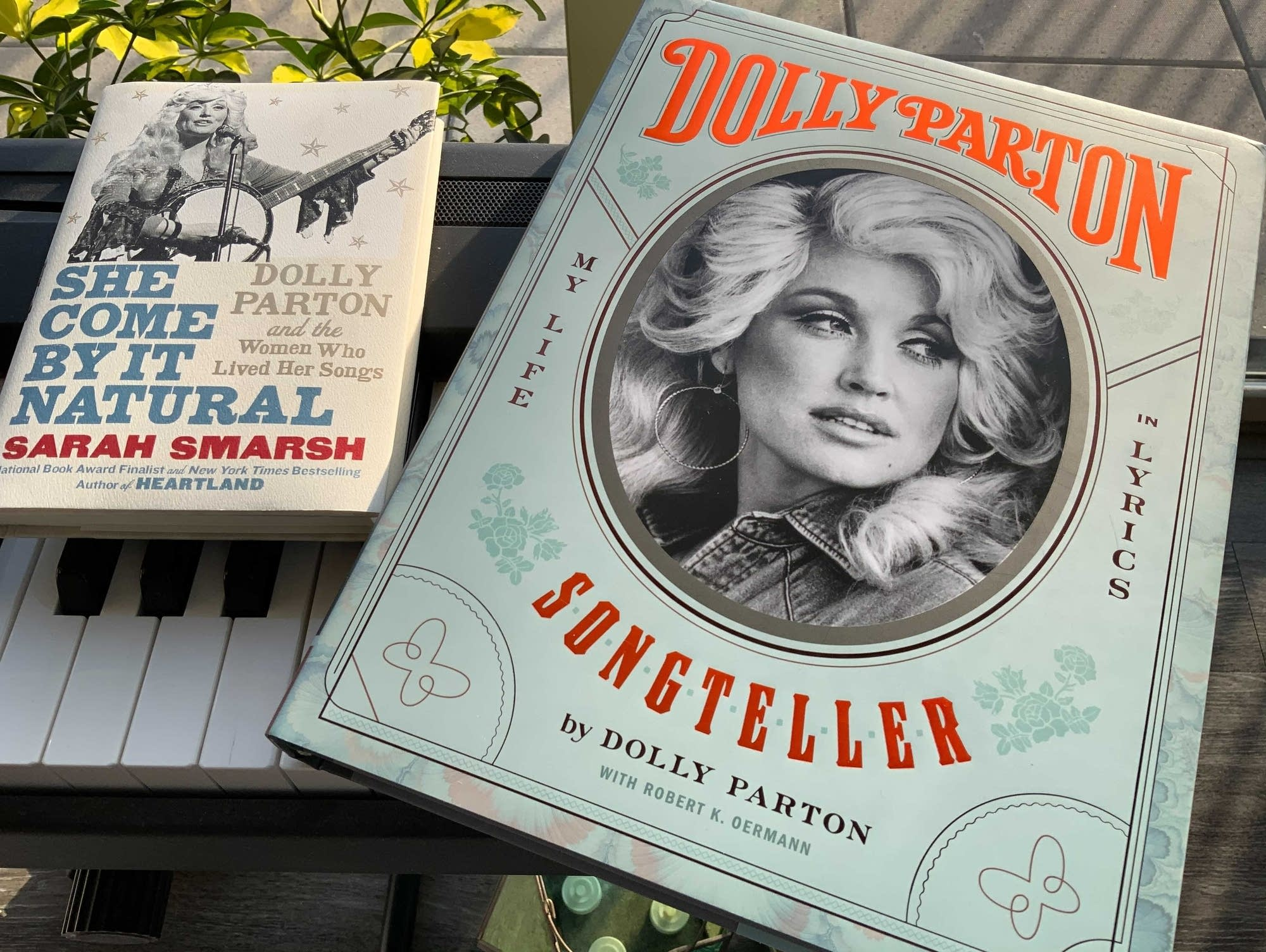 Two new books about Dolly Parton.