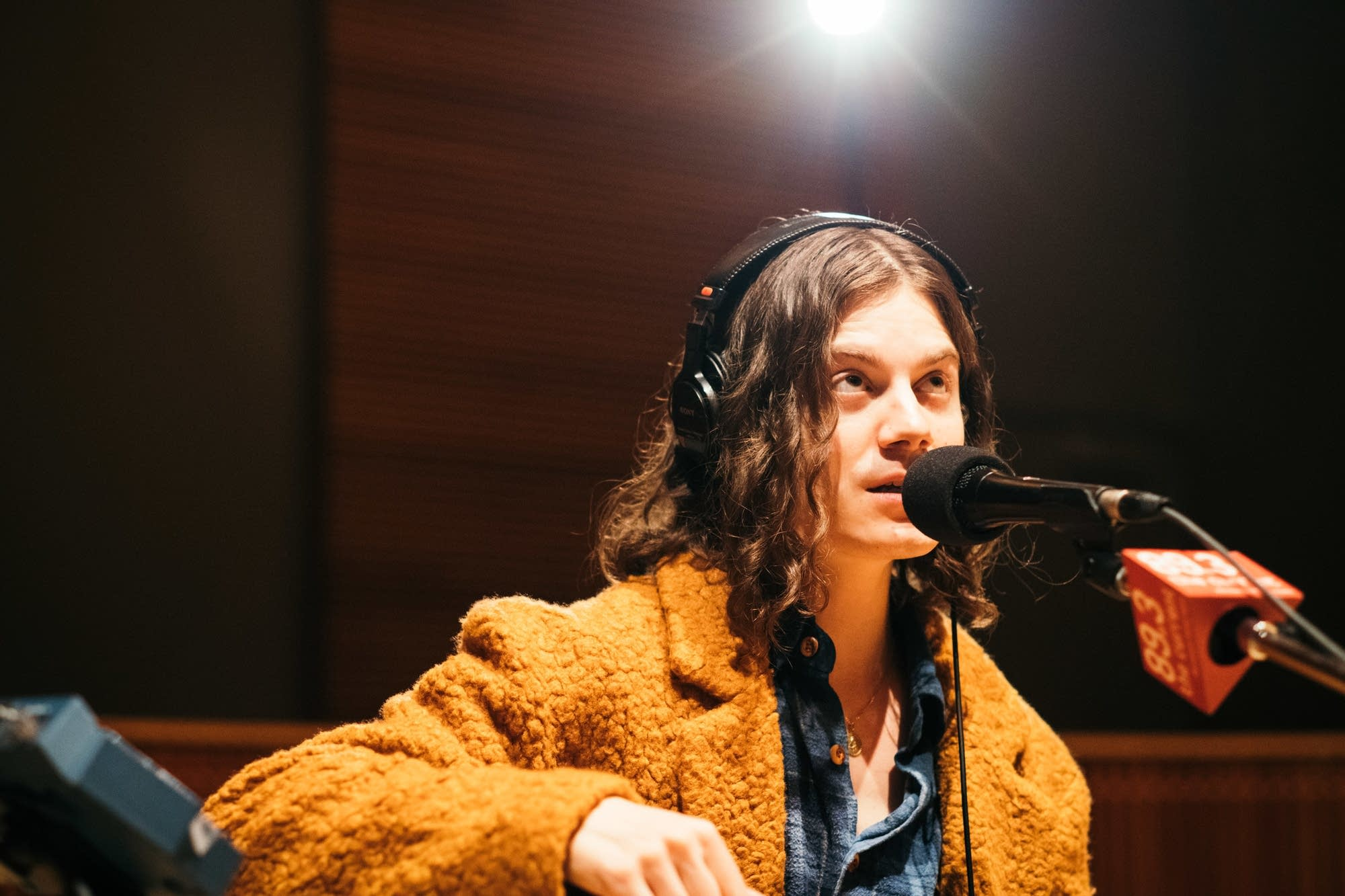 BORNS performs in The Current studio