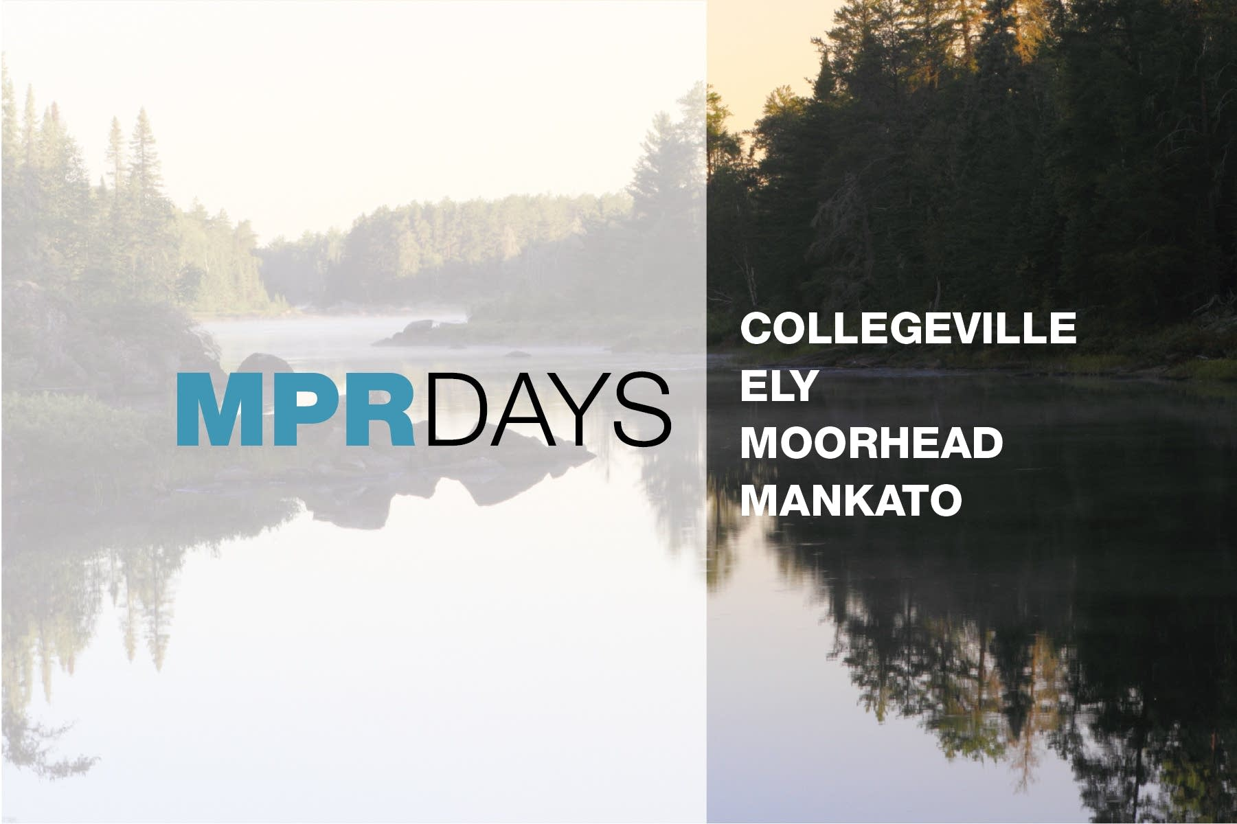 MPR Days around Minnesota for MPR50