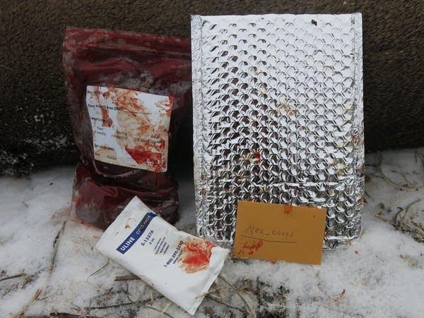 Deer spleen testing kit