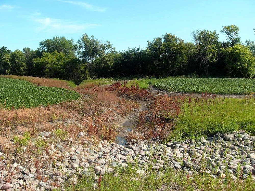 Ditch erosion