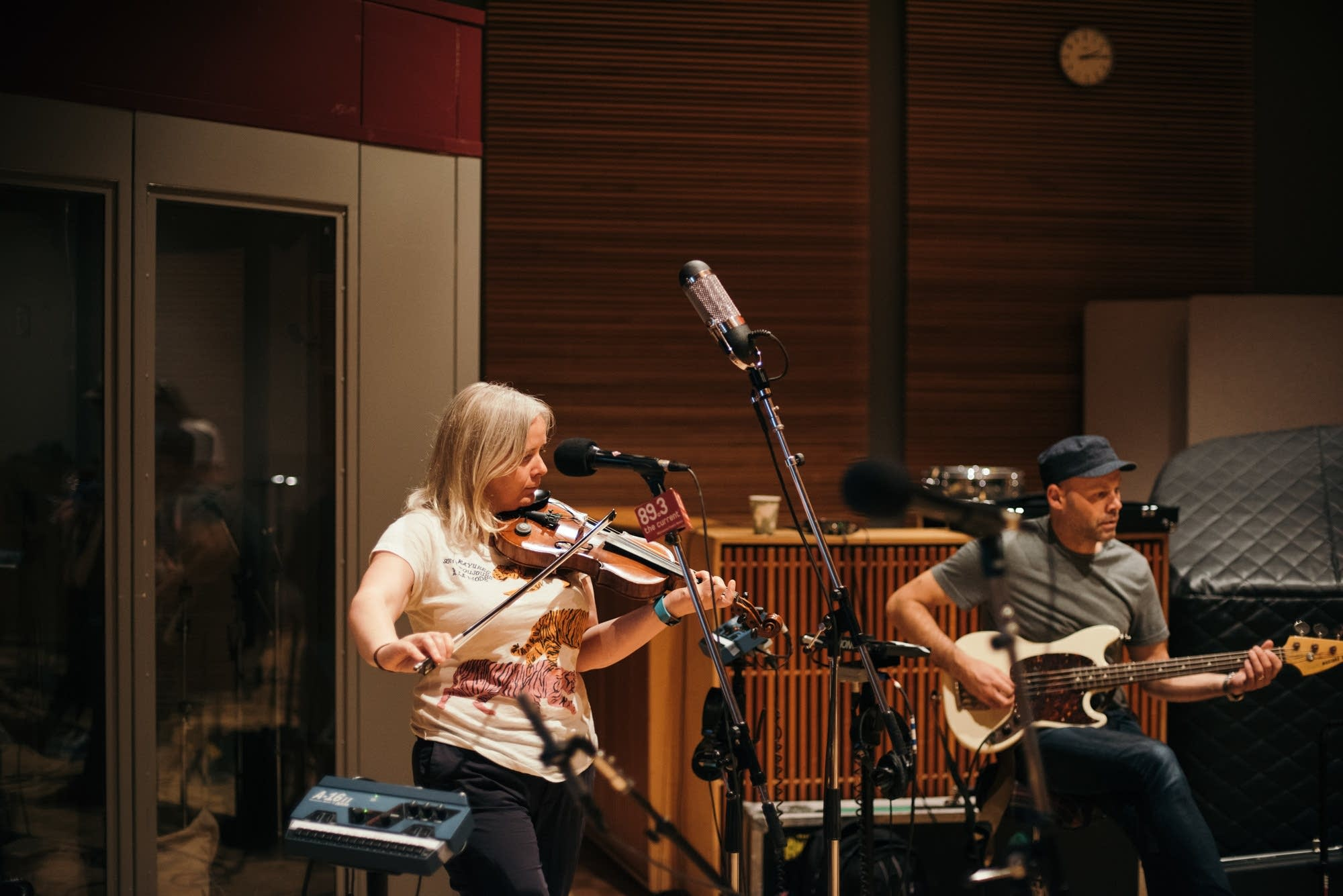 Belle and Sebastian perform in The Current studio