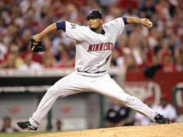 Twins pitcher Francisco Liriano
