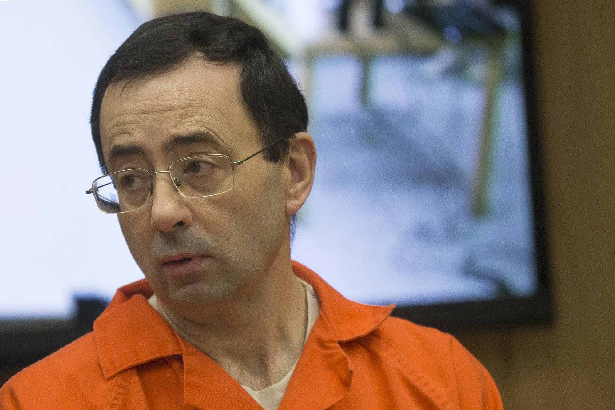 Larry Nassar appears in court for his final sentencing phase.