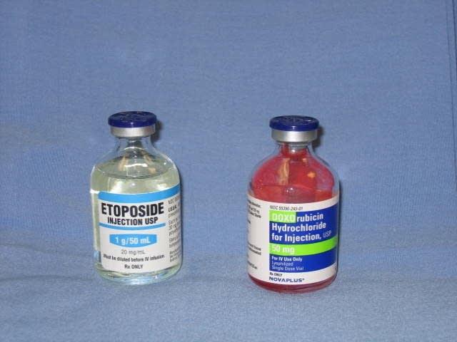 Doxorubicin and etoposide