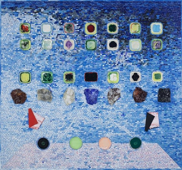 Apps for Obama by Jack Whitten