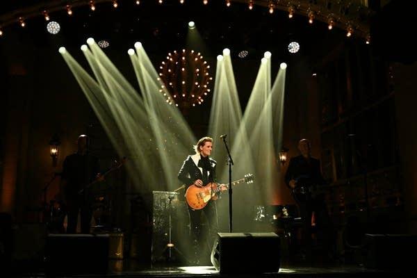 Brandi Carlile performs on 'Saturday Night Live'