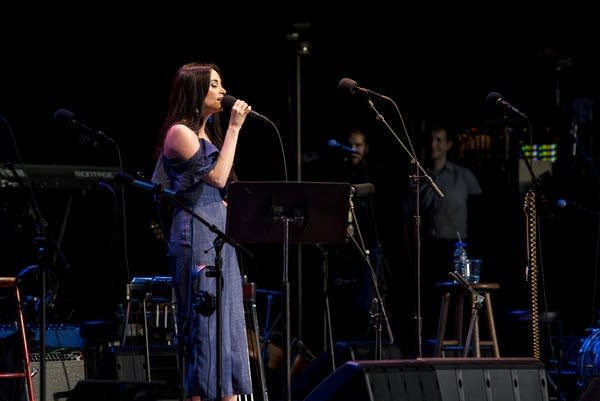 Kacey Musgraves performs at Wolf Trap