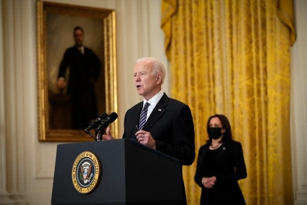 Biden, Harris offering solace to grieving Asian Americans | MPR News