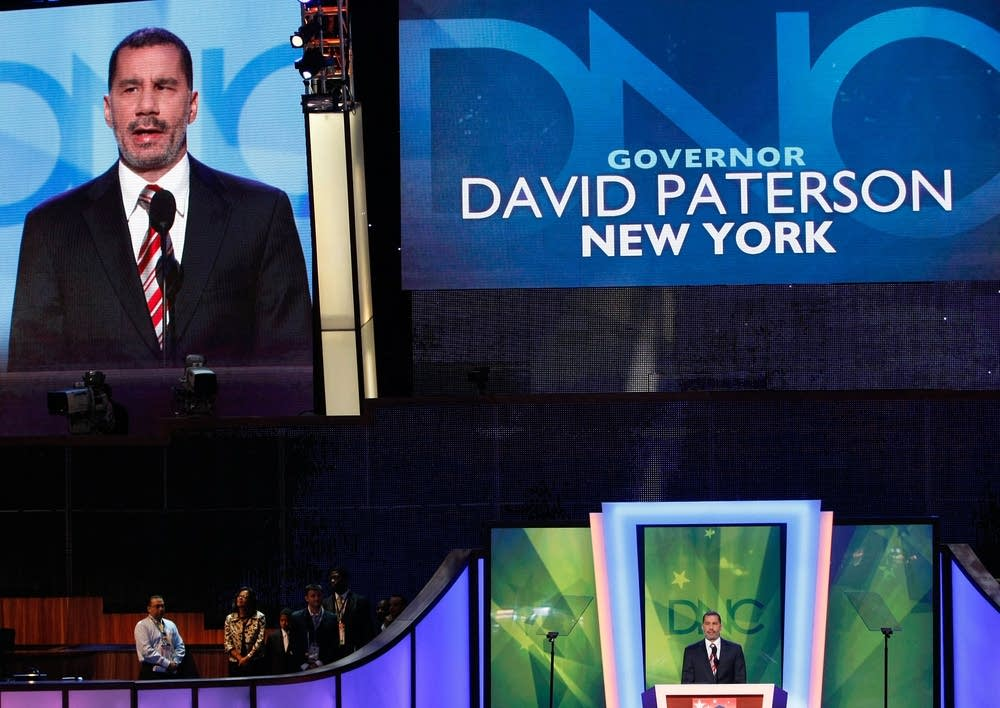 NY Gov. David Patterson speaks at the DNC