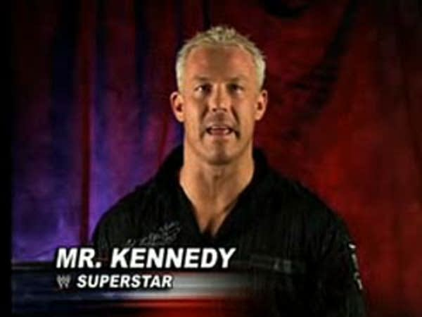 Wrestling star Mr. Kennedy