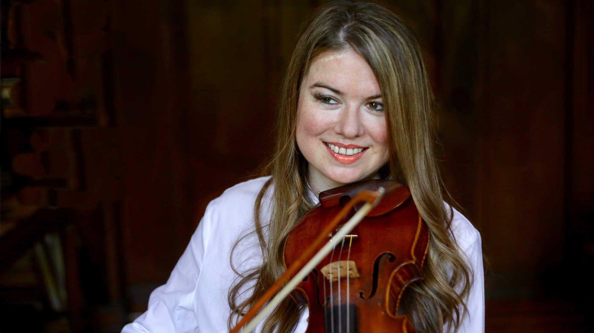Violinist Lara St. John