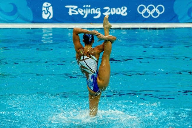 Olympics Day 15 - Synchronised Swimming