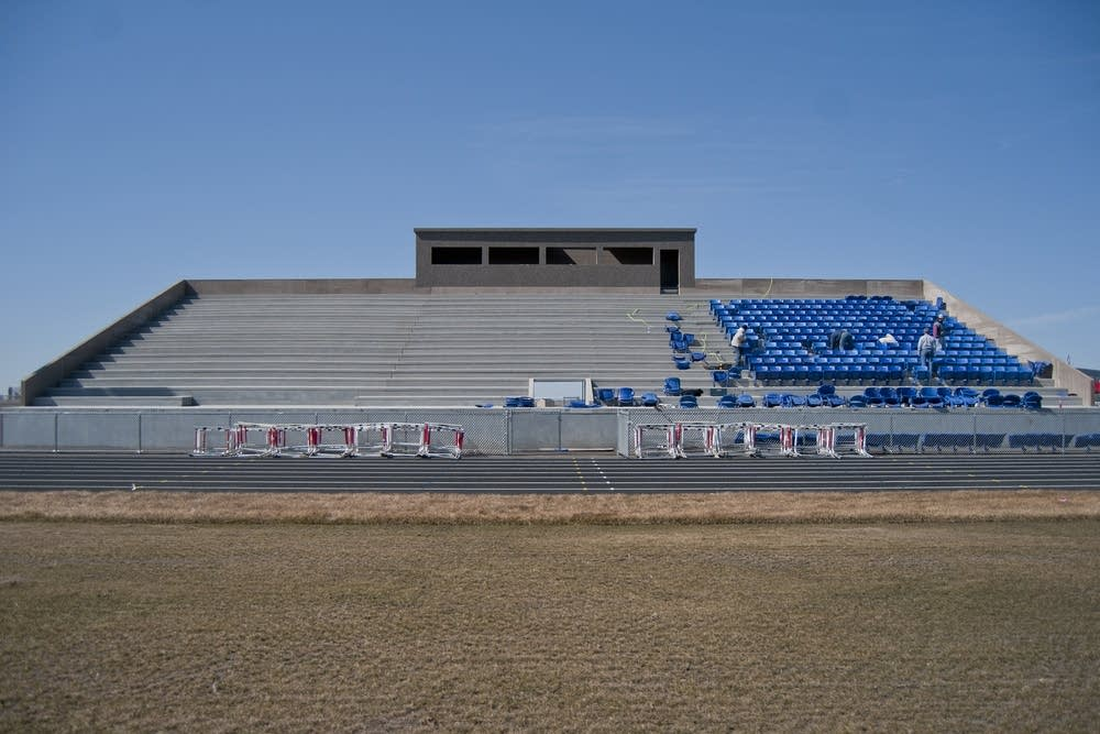 United South Central's athletic stadium