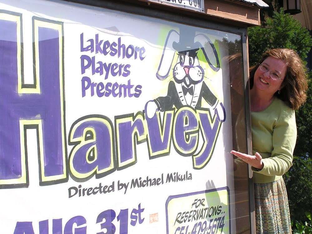 'Harvey' on stage