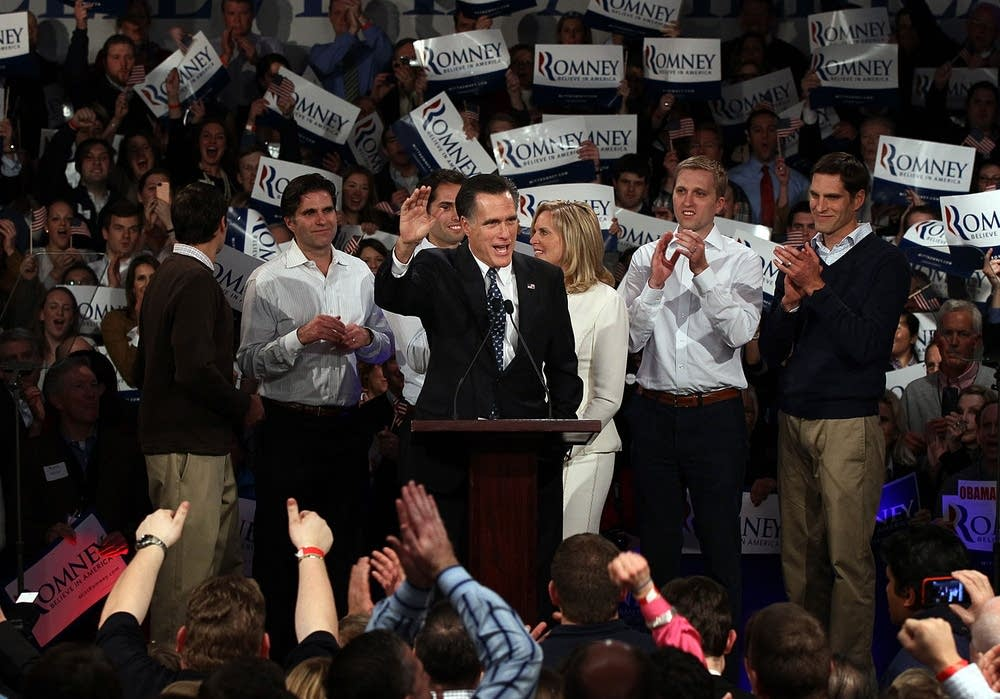 Romney in New Hampshire