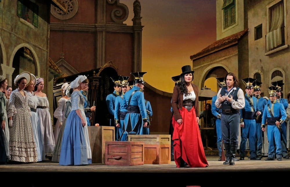 A scene from L'Elisir d'Amore