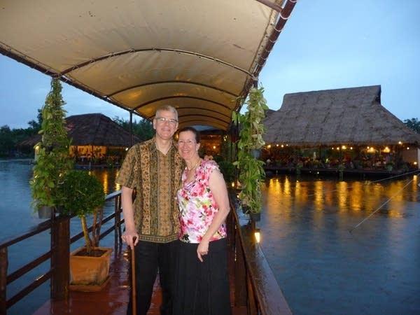Bruce and Ev Kramer in Thailand