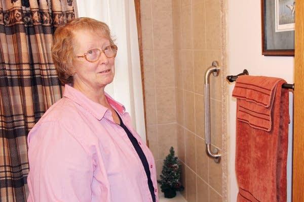 Homeowner Sheryl Brunner