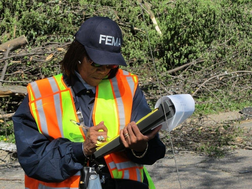 FEMA agent Deborah Bivens