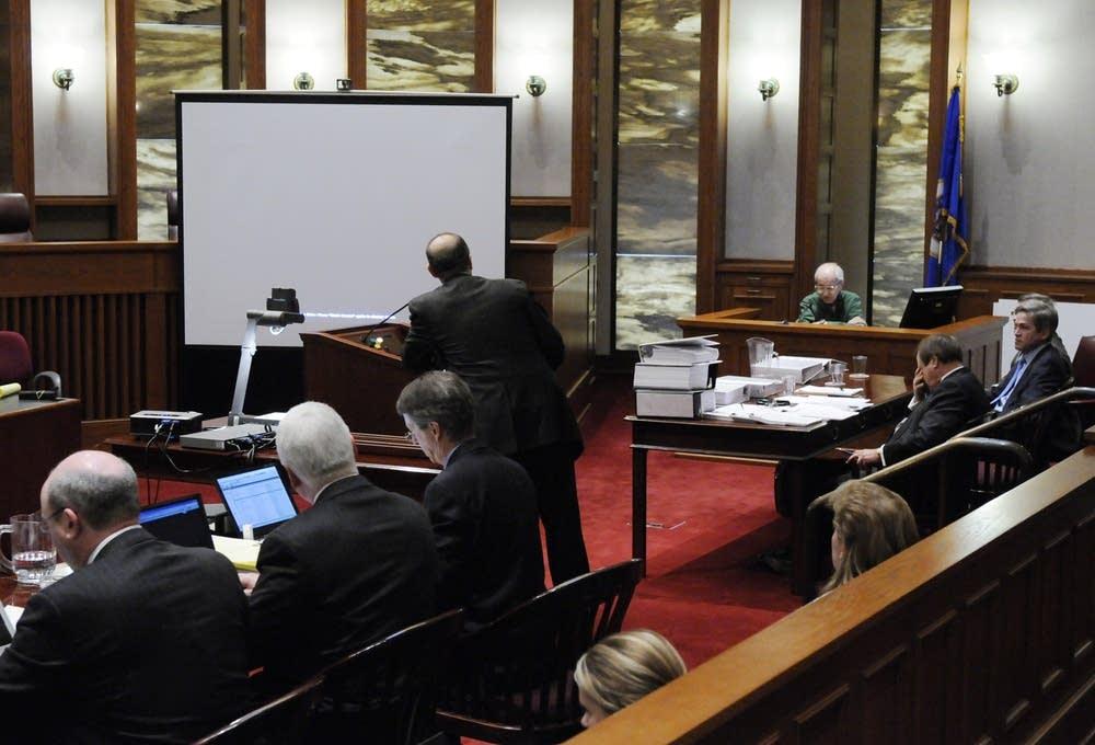 Gerald Anderson testifies