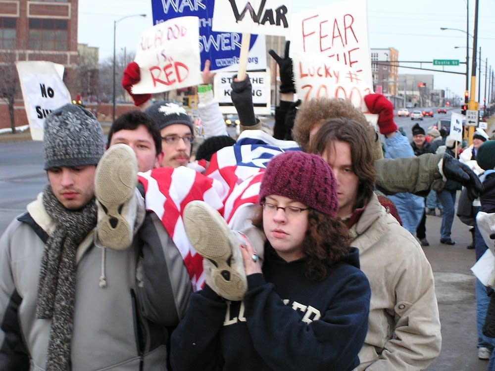 A protest from Iowa