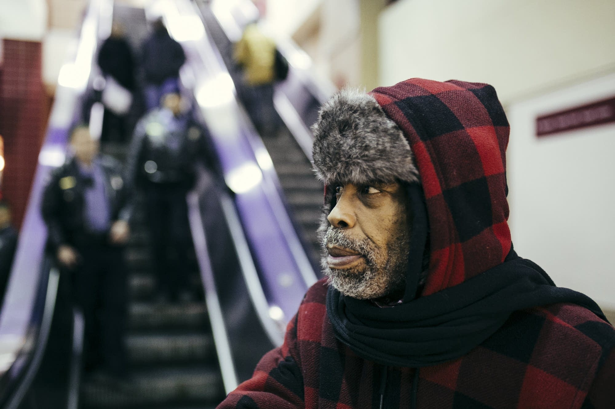 Gregory Graham, who is currently experiencing homelessness