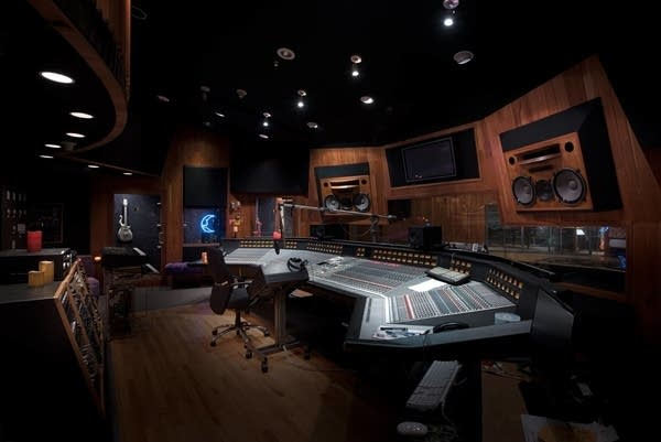 Studio A in Paisley Park