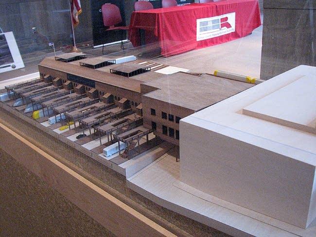Union Depot model